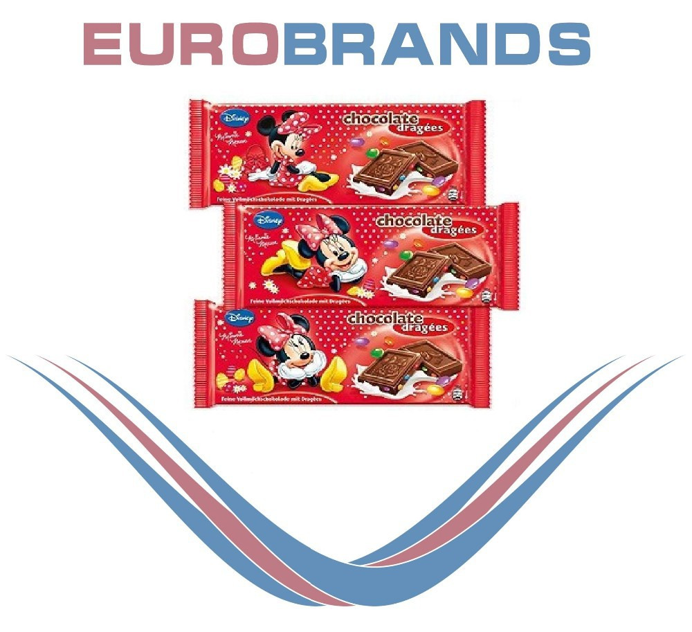 Minni Mouse Dragees Chocolate 100g