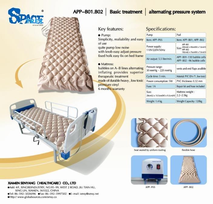 Medical Bubble Air Mattress With Pump Alpha Bed App B01   Buy Medical  Bubble Air Mattress With Pump Alpha Bed,Medical Bubble Air Mattress,Alternating  ...