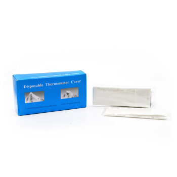 Disposable digital thermometer probe cover