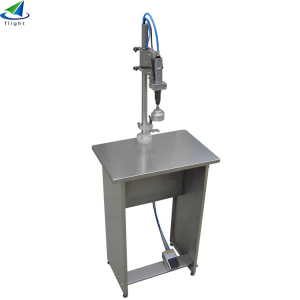 Simple and delicate Semiautomatic capping machine