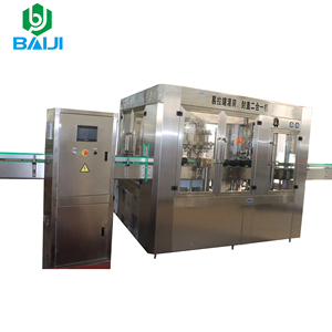 Aluminum cans juice / carbonated beverage / energy drink filling sealing machine / production line