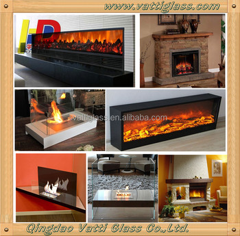 Heat Resistant Clear Ceramic Glass Plate Used Fireplace Stove Glass Doors Buy Heat Resistant