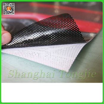 Perforated One Way Vision Self Adhesive Vinyl Film Buy
