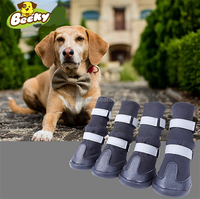 Wholesale Dog Running Shoes Waterproof Dog Rain Boots For Big Dog