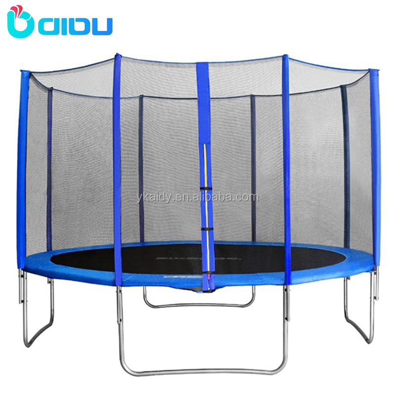 Hot sale commercial 12FT trampoline outdoor with enclosure
