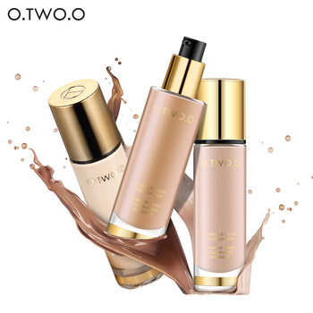O.TWO.O Brighten Whitening Oil-control Liquid Foundation Makeup Bases Foundation