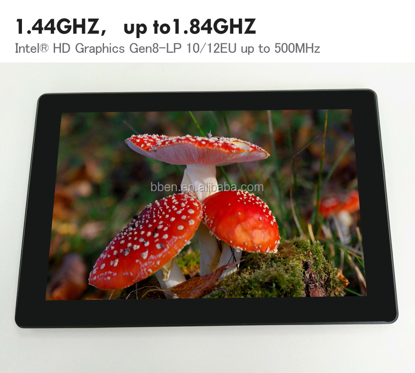 China manufacturer cheap 10.1 inch windows 8.1 tablet pc with keyboard Intel Z8300 quad core