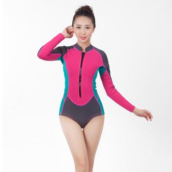 b5c388e31 Traje de buceo medusas chaqueta traje de surf cuerpo traje de baño para  mujeres