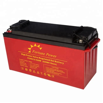 Fortune Power Manufacture Ups Battery 12 V 150ah Gel Battery 12v 100ah  110ah 120ah - Buy Steel 12v 150ah Solar Gel Battery,150ah Portable  Capacitor