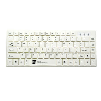 Wired USB White Color Computer Keyboard