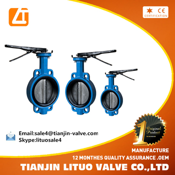 Competitive Price Manufacture Cast Iron Butterfly Valves Pn16 ...