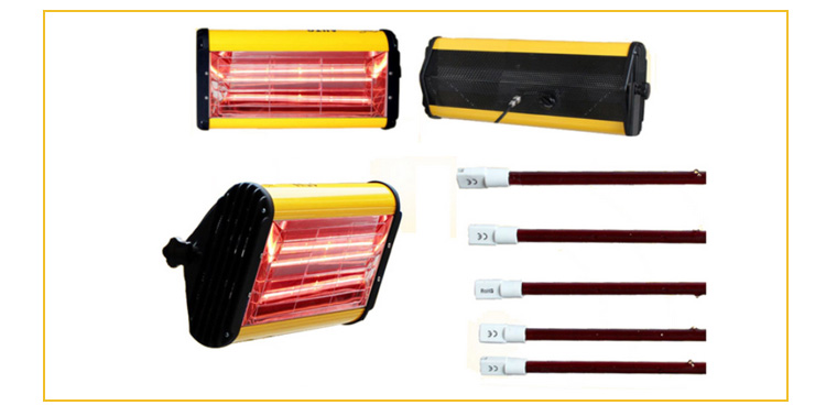 Manufacture high quality car paint infrared heat lamp