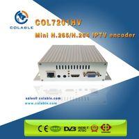COL7201HV HD H.265 IPTV Encoder - hd mi +vga+ypbpr+av ip (http,rtsp,rtmp,udp,onvif) out