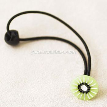 Special Design Fruit Accessories Covered Thin Elastic Hair Bands ... 6a1883d553c