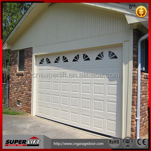 Puerta de garaje seccional con vacaciones de primavera - Puertas para garages ...