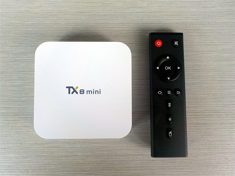 2018 New design TX8 MINI S912 2G 16G s912 firmware android box tv With Promotional Price Dual WIFI KD player TV BOX
