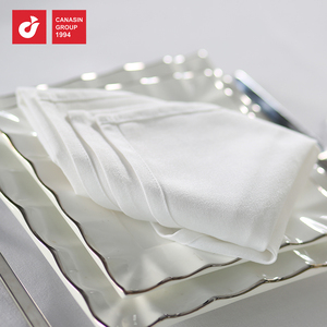 Hot Sale Acceptable 100% Cotton Material Woven Sateen Hotel Table Napkin