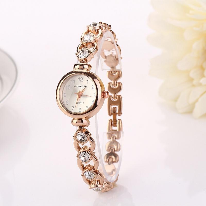 2016 летний стиль золотые часы марки часы Relojes женщины наручные ... aed2f7a5878
