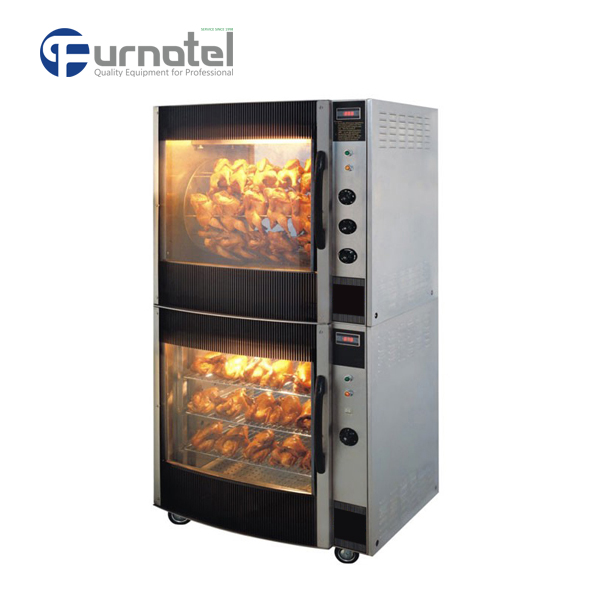 K069 Professional Vertical Industrial Electric Kebab Chicken Rotisserie Oven for Sale
