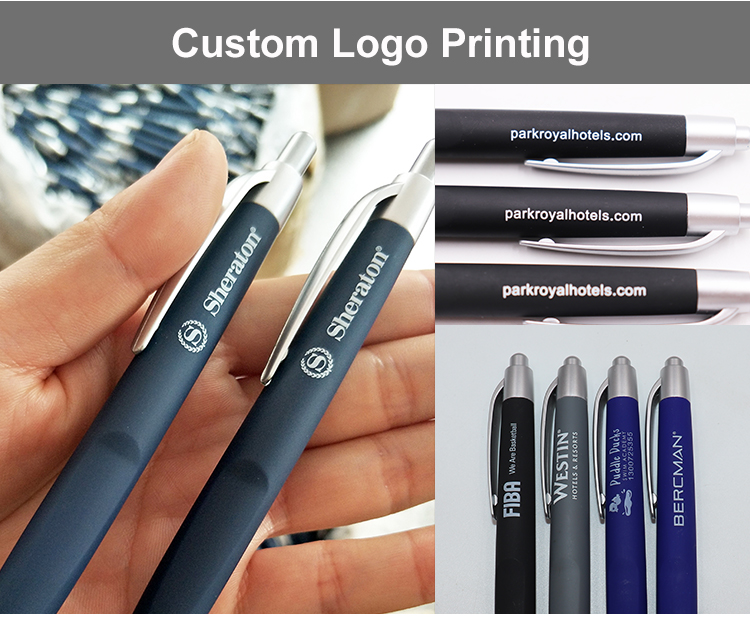 Cheap Plastic Items Ball Pen With Logo