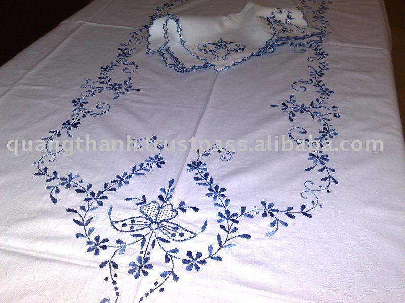 Hand Embroidery Table Cloth Handmade Product On Alibaba