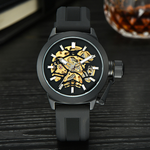 High Quality Crivit Strap For Men Made in China OEM Skeleton Sport Watch