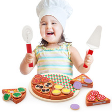 Toys For Kids 2018 Play Food Set Montessori Educational Wooden Kitchen Toy
