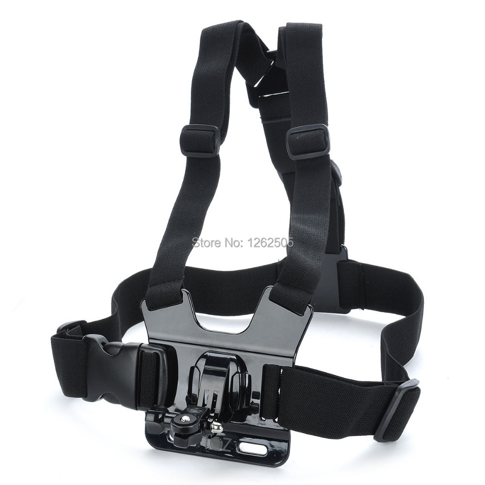 Gopro Harness Mount Chest Strap Adjustable Band Chest Band Buckle Mount for GoPro HD 2/3/3+/4 Camera Sony Mini Action Cam As20