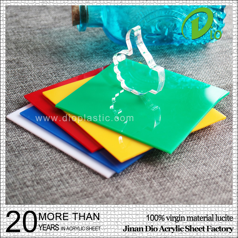Colored cast acrylic sheet - Anti Uv Plastic Strong Panel Strong 4mm Strong Cast