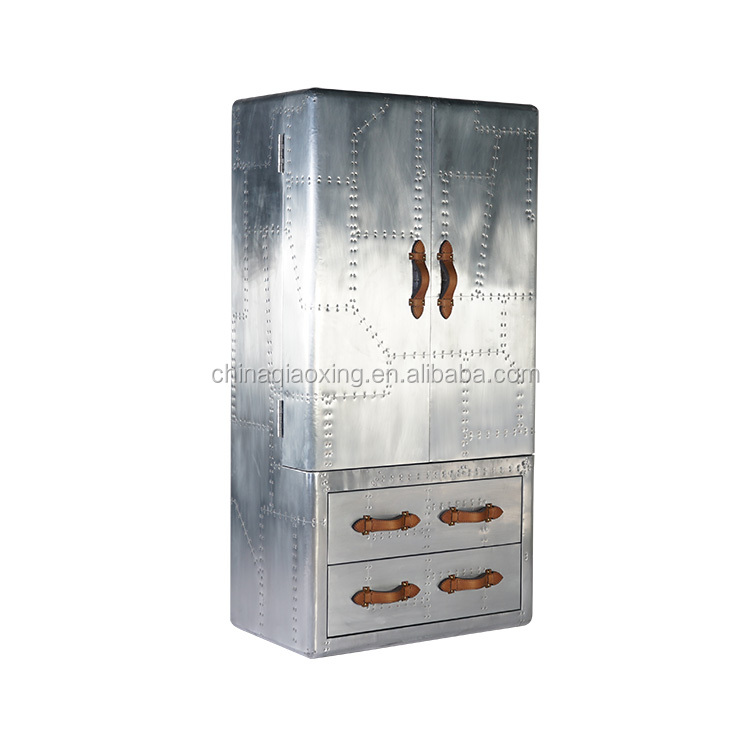Custom Industrial Furniture Storage Function Home Office Drink Cabinet With Drawer
