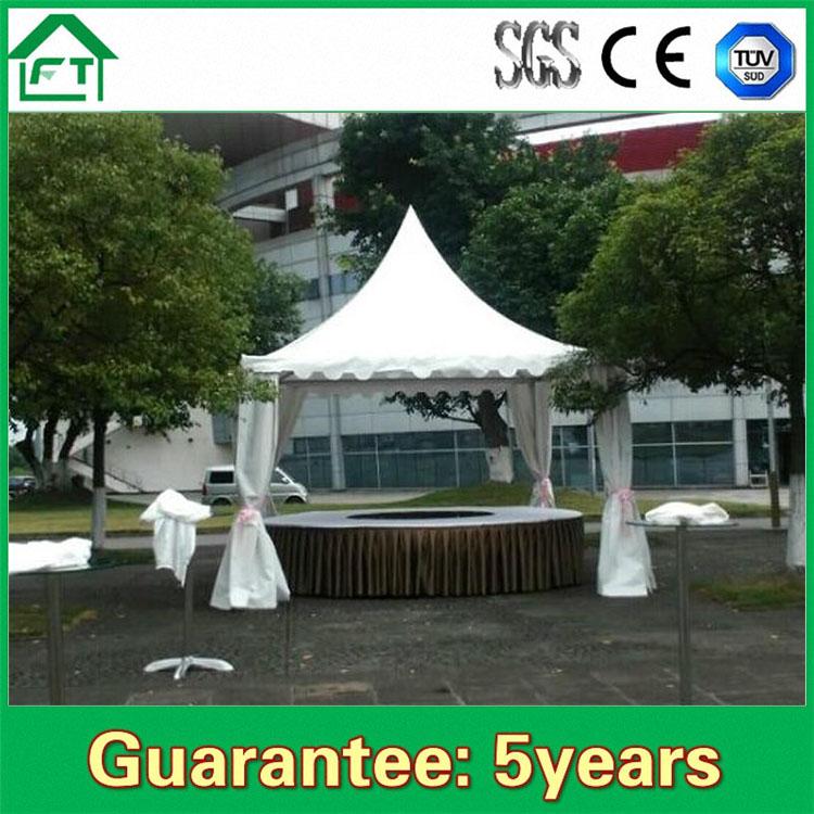 מאוד זול אוהל מסיבת חתונה עמיד למים אוהל בדואי למכירה כיסוי PVC לבן UE-91
