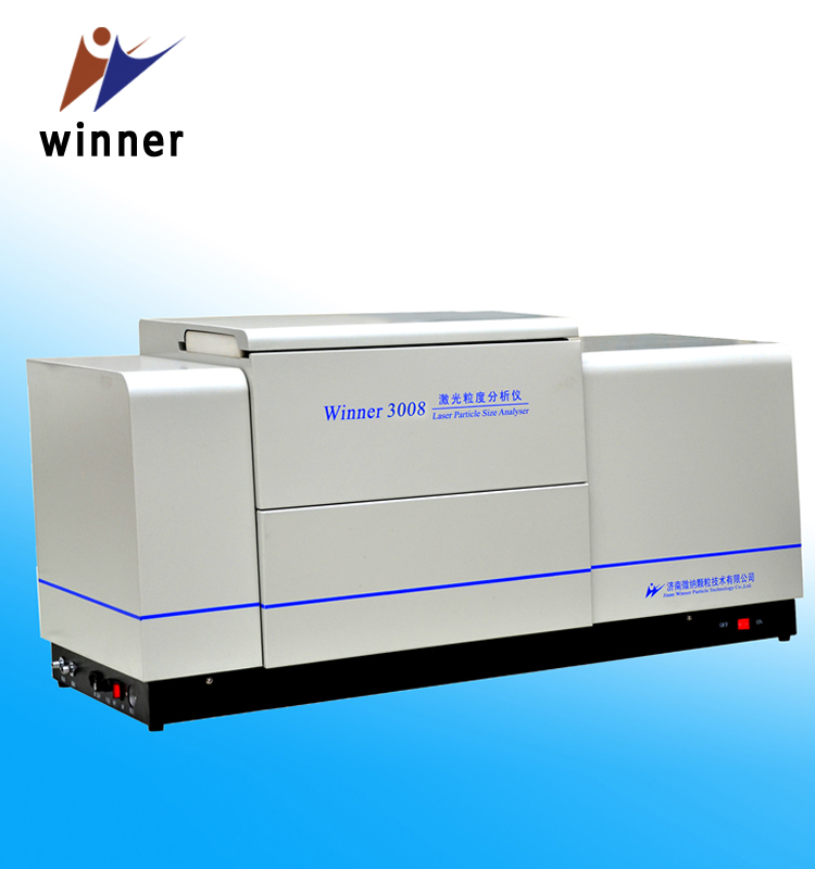 Laser Particle Size Analyzer : Lab research high accuracy winner a laser diffraction