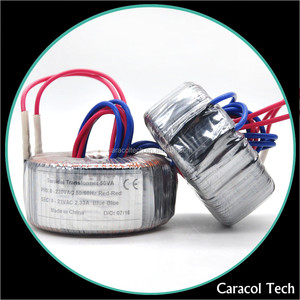 127v 230v Current Toroidal Transformer For Spot Welding Machine