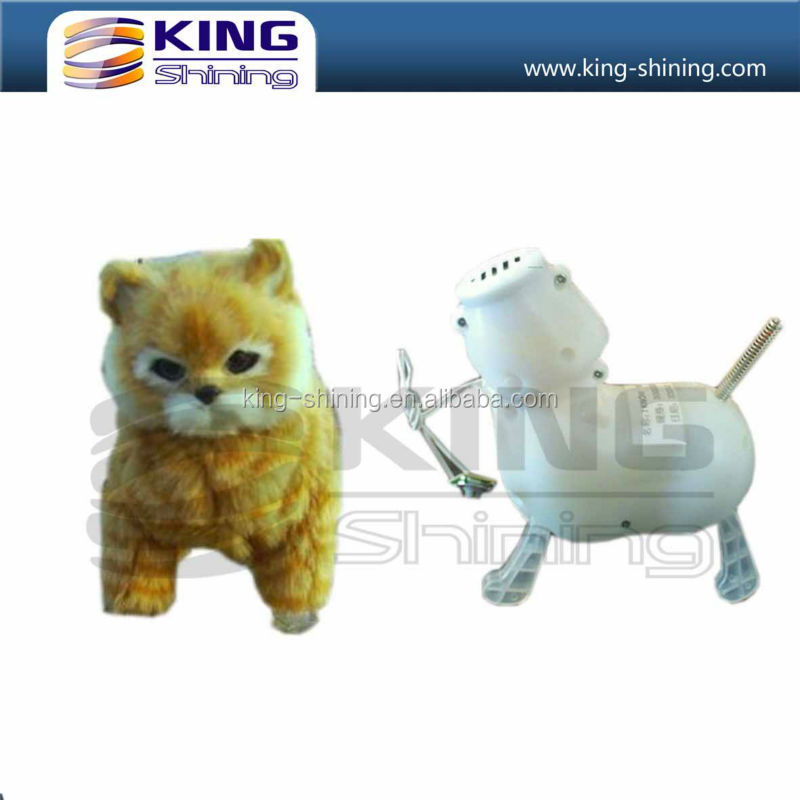 Sining and walking plush toys cat for gifts and promotional product