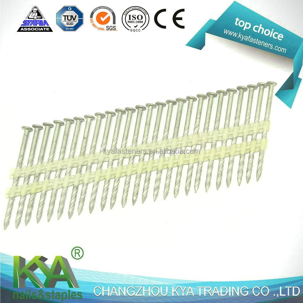 Catálogo de fabricantes de 21 Grado Clavos Tira De Plástico de alta ...
