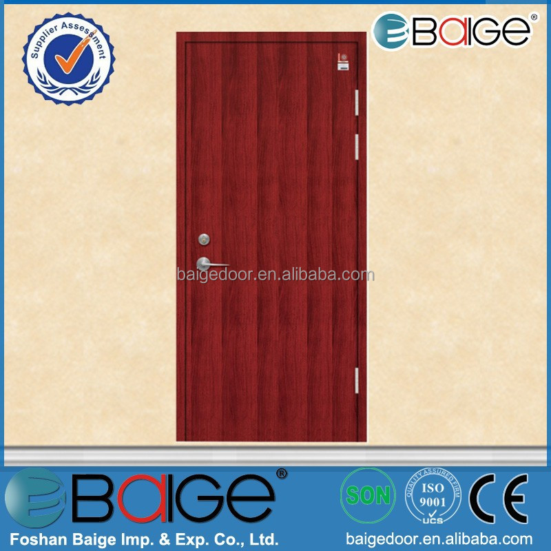 BG-F9059 residential fire rated doors/hotel doors fire proof/hinges for fire doors