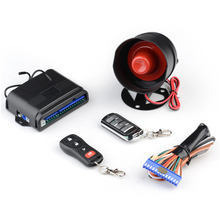 most popular giordon keyless entry car alarm system with 4 button remote