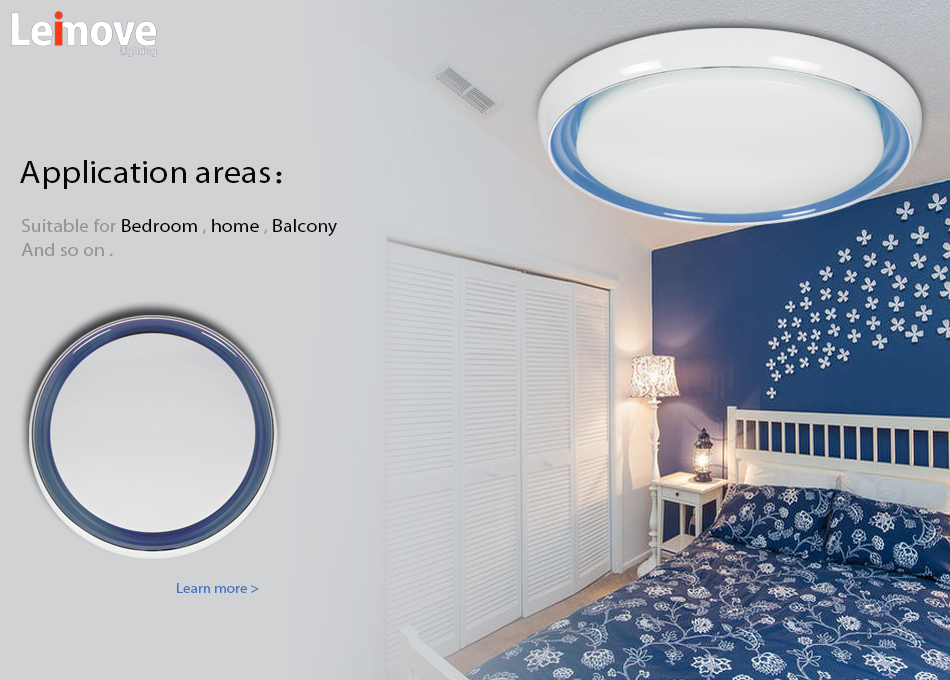 Professional Design Round shape 60 Beam angle 12 watt led ceiling light