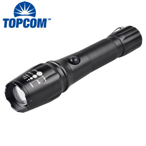 1000lm LED Tactical Flashlight Rechargeable XML T6 LED Flashlight Torch Light with Rechargeable 18650 Battery and Charger