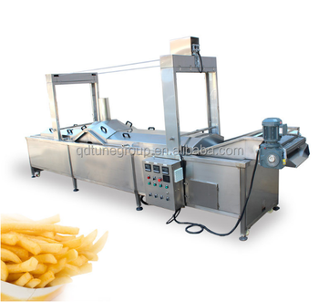 500kg Full Automatic Frozen French Fries Production Line