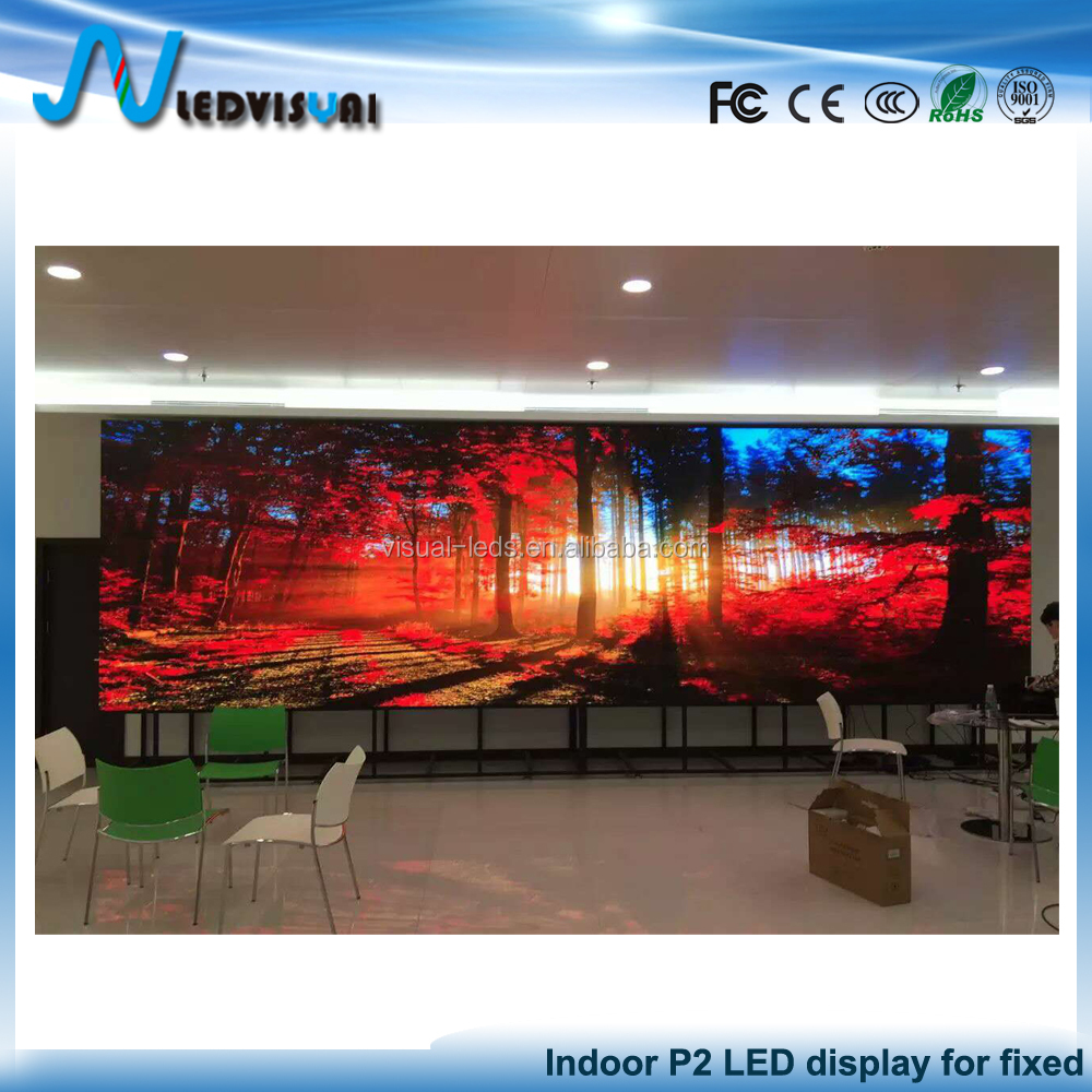 HD Movies Vidoes P2 LED Display Screen Manufacture China