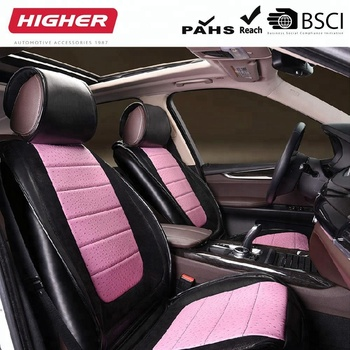 SZ8004 Hot Sale Womens Girly T Shirt Type New Car Seat Cover