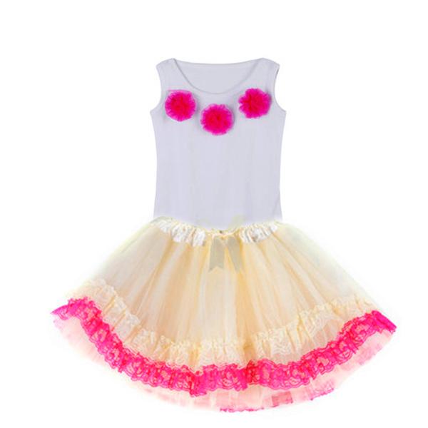 ee67204ac Buy 2015 Summer Style Fluffy Children Girl Skirt Variety Of Colors ...