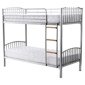 Bedroom furniture adult wrought cast iron bunk beds