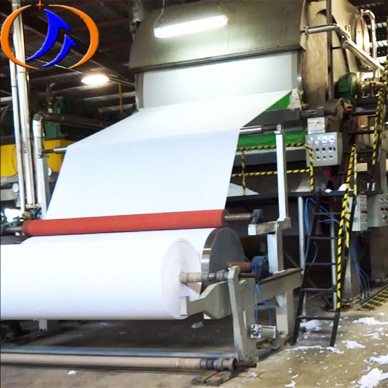 Complete Jumbo Roll Toilet Tissue Paper Making Machine For Sale