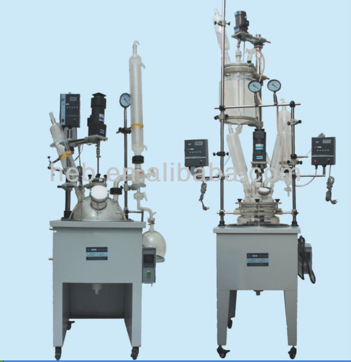 EXHB-20L Chemical Single Layer Glass Reactor