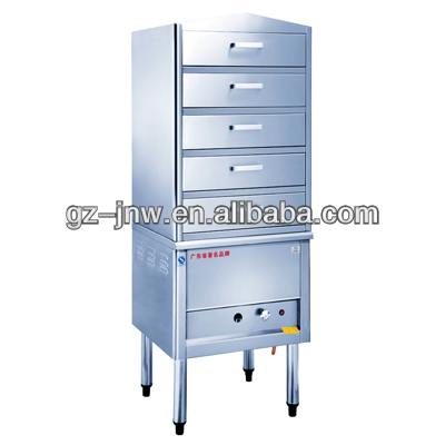 LC-QWLD food gas steamer cabinet for steam bao zi steamer,dim sum