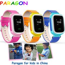 Kids GPS Tracker Watch SOS Emergency GSM Smart Mobile Phone fitness tracker smartband kids gps watch gt08 dz09 u8 moto 360 q60