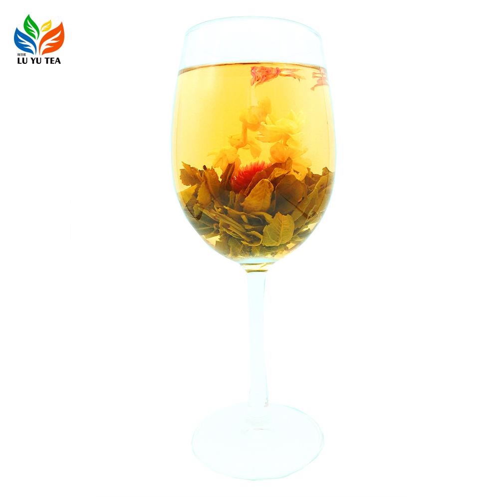 Fujian Various Blooming Tea Gift Packing Natural Flowering Camellia Tea Blooming Flower Tea For Benefits - 4uTea | 4uTea.com