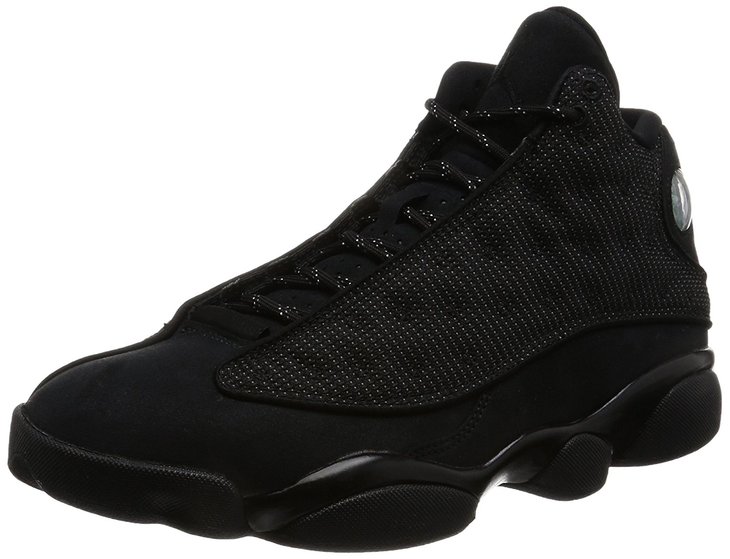 3bba4787d73fb1 Get Quotations · Jordan Men Air Jordan 13 Retro (black   black-anthracite)  Size 11.0 US